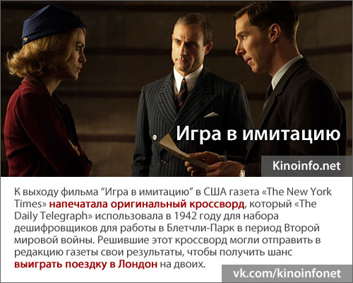 Факт Игра в имитацию / The Imitation Game (2014)