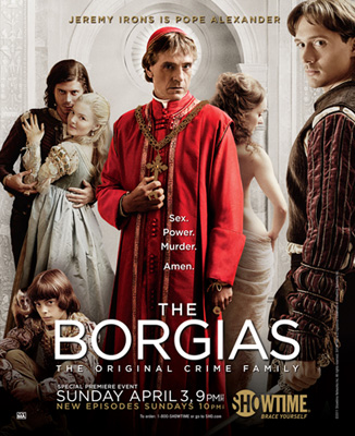 Borgias Showtime 2011